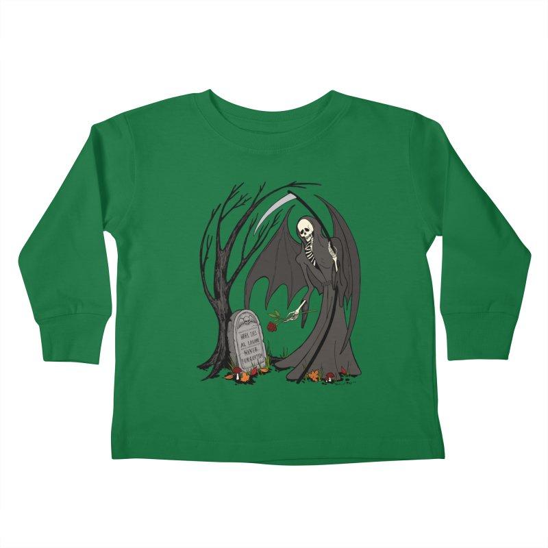 All Alone Kids Toddler Longsleeve T-Shirt by RichRogersArt