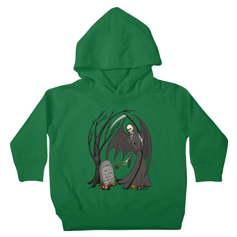 All Alone Kids Toddler Pullover Hoody by RichRogersArt