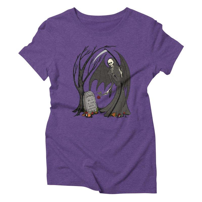 All Alone Women's Triblend T-Shirt by RichRogersArt