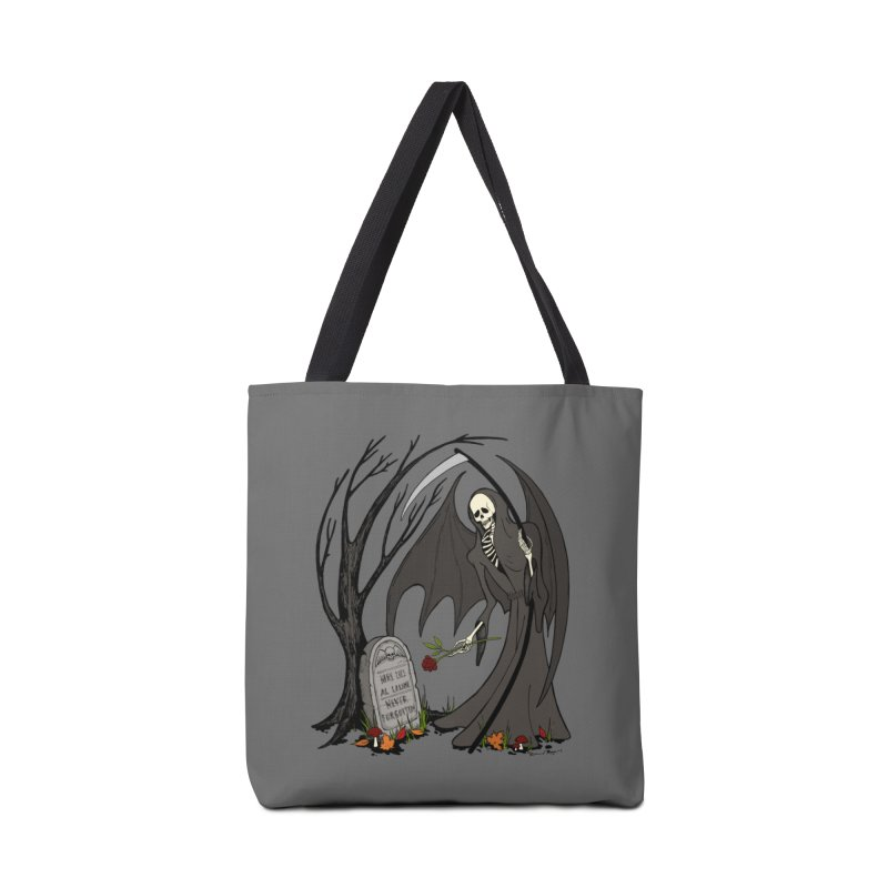 All Alone Accessories Tote Bag Bag by RichRogersArt