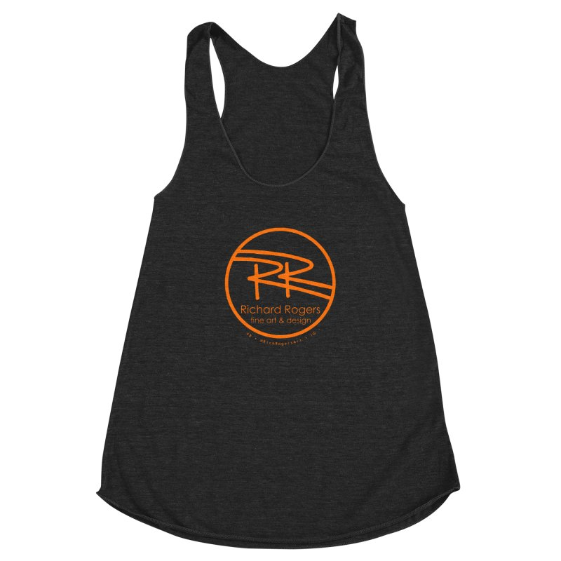 Richard Rogers Fine Art Women's Racerback Triblend Tank by RichRogersArt