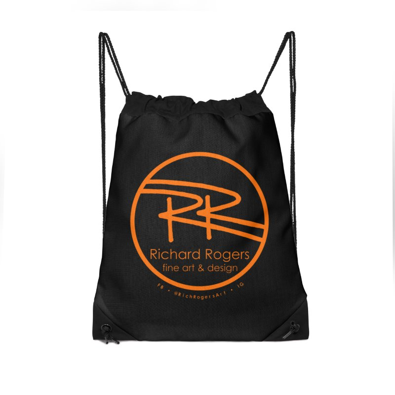 Richard Rogers Fine Art Accessories Drawstring Bag Bag by RichRogersArt