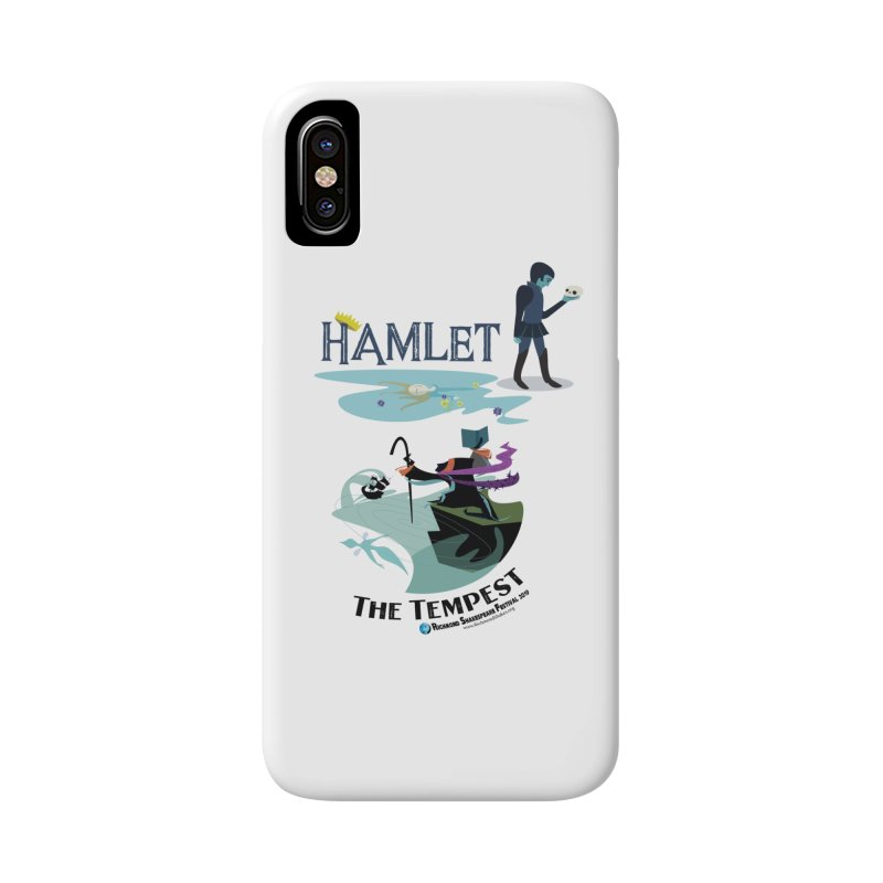 Richmond Shakespeare Festival 2019 Season in iPhone X / XS Phone Case Slim by Richmond Shakespeare Festival' s Artist Shop