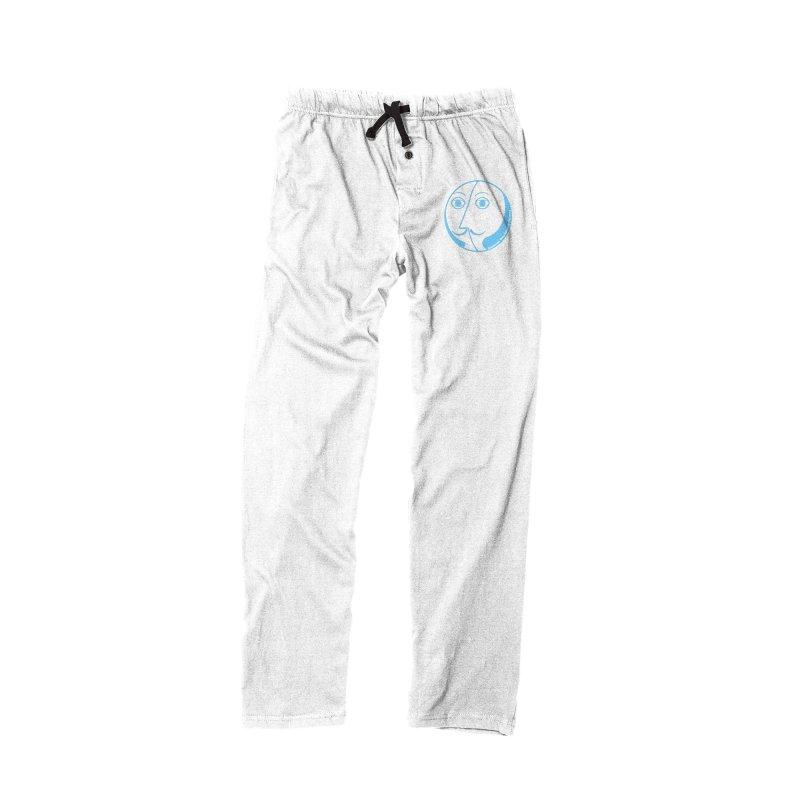 Basic Baby Blue RSF Logo in Women's Lounge Pants Bottoms Black by Richmond Shakespeare Festival' s Artist Shop