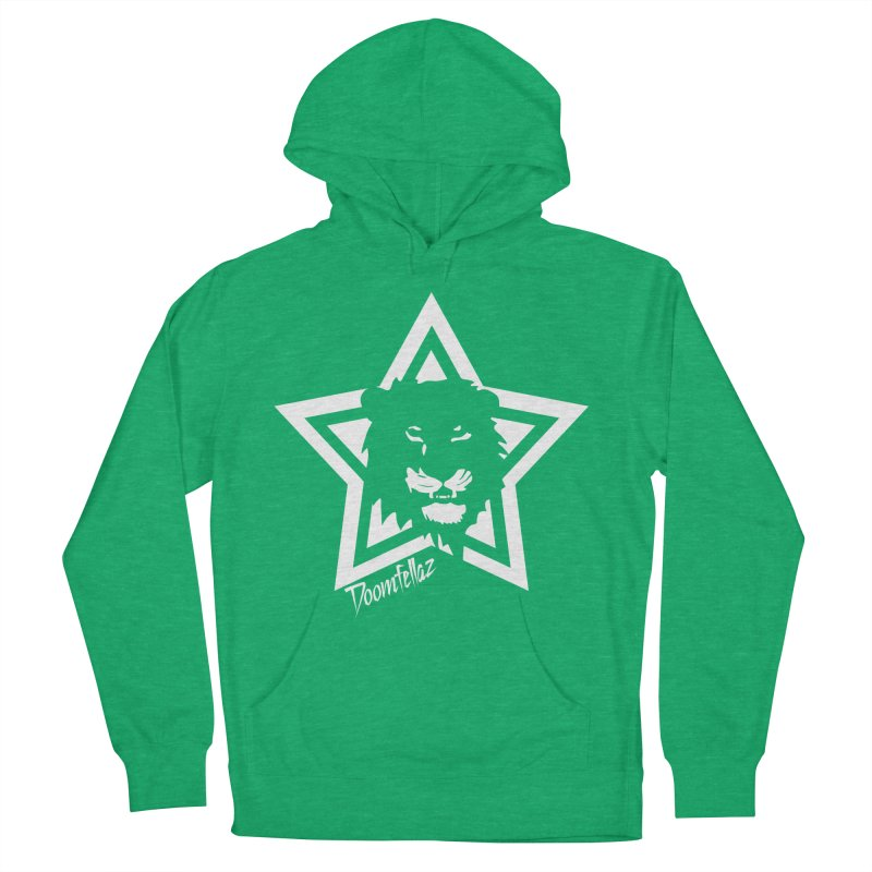 Doomfellaz Lion Star Men's Pullover Hoody by Ricksans's Artist Shop