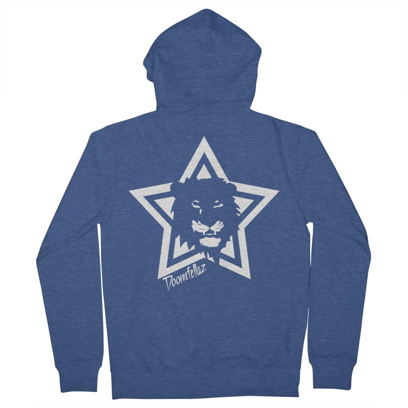 Doomfellaz Lion Star Men's Zip-Up Hoody by Ricksans's Artist Shop