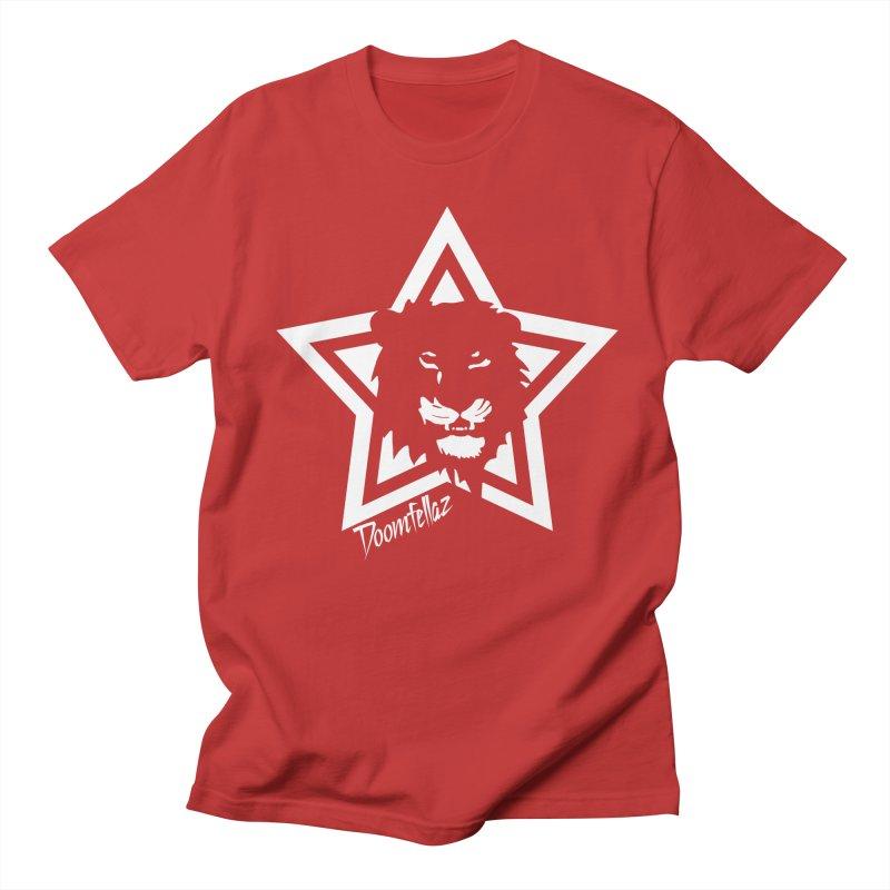 Doomfellaz Lion Star Men's T-shirt by Ricksans's Artist Shop