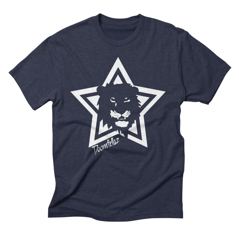Doomfellaz Lion Star Men's Triblend T-shirt by Ricksans's Artist Shop