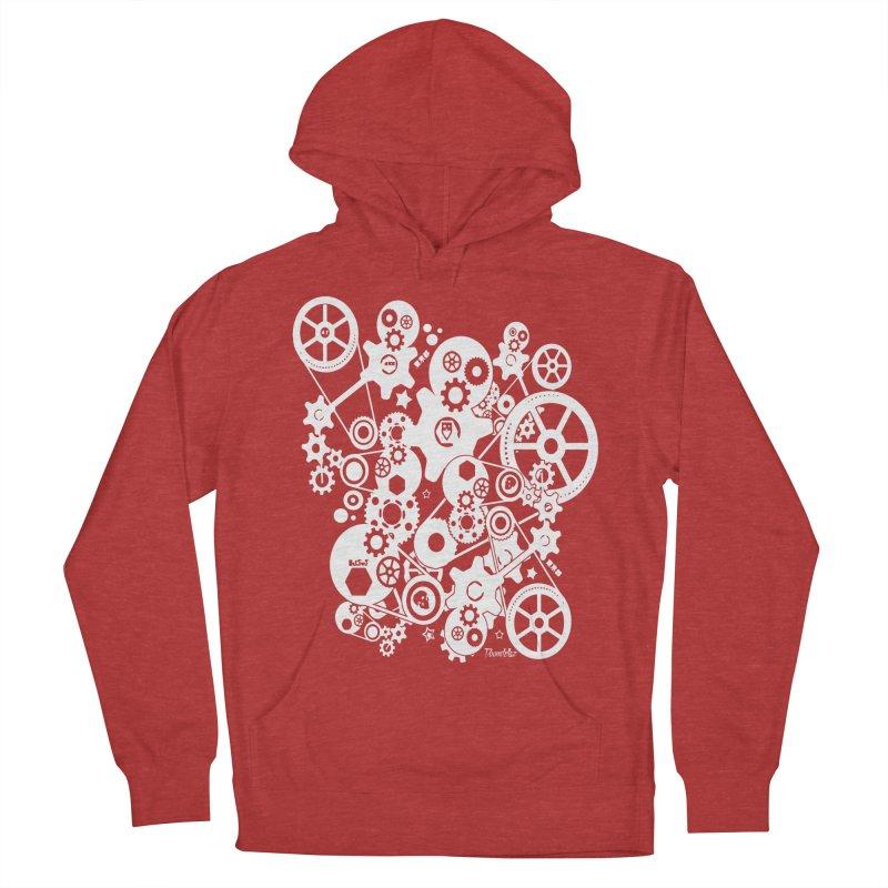Doomfellaz Steampunk Gears (light) Women's Pullover Hoody by Ricksans's Artist Shop