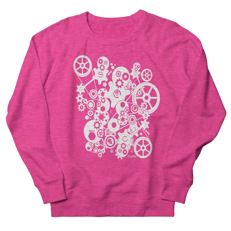 Doomfellaz Steampunk Gears (light) Men's Sweatshirt by Ricksans's Artist Shop