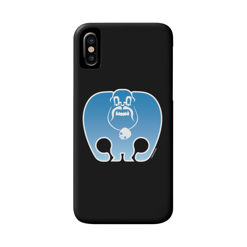 SkullSquach by Rick Sans Accessories Phone Case by Rick Sans' Artist Shop