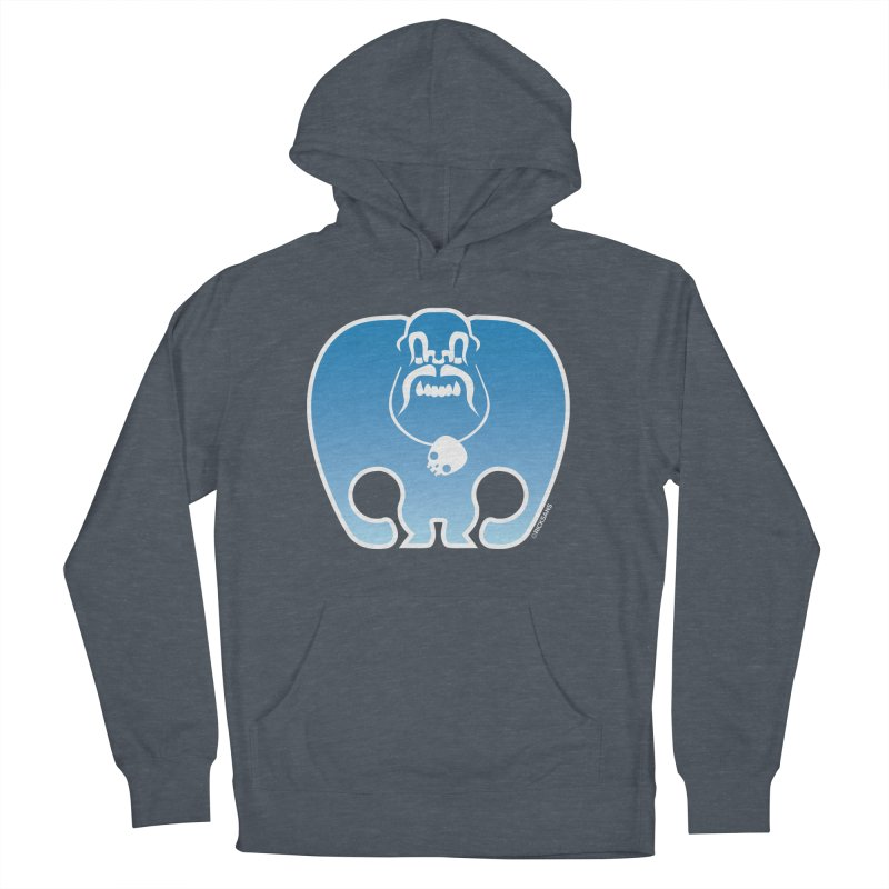 SkullSquach by Rick Sans Women's French Terry Pullover Hoody by Rick Sans' Artist Shop