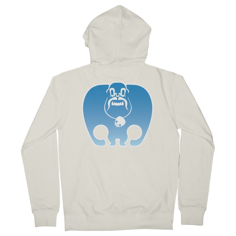 SkullSquach by Rick Sans Women's Zip-Up Hoody by Ricksans's Artist Shop