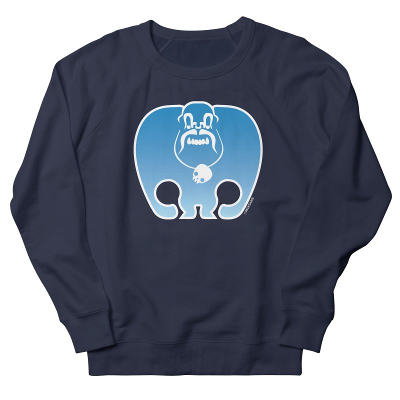 SkullSquach by Rick Sans Men's French Terry Sweatshirt by Rick Sans' Artist Shop