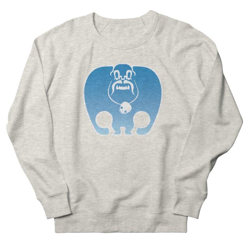 SkullSquach by Rick Sans Men's French Terry Sweatshirt by Rick Sans' Artist Shop