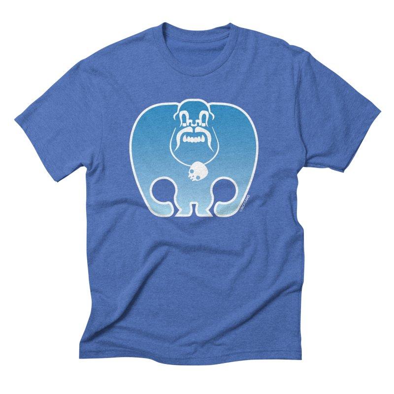 SkullSquach by Rick Sans Men's Triblend T-Shirt by Rick Sans' Artist Shop