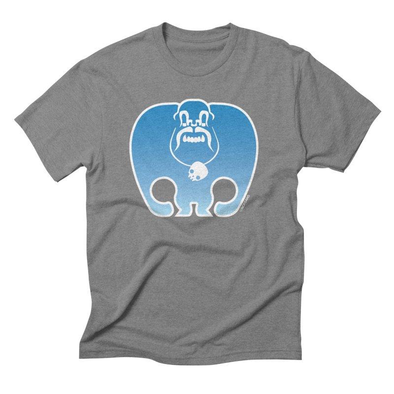 SkullSquach by Rick Sans Men's Triblend T-shirt by Ricksans's Artist Shop