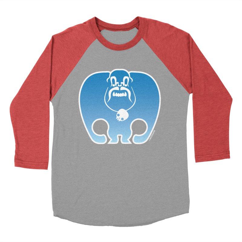 SkullSquach by Rick Sans Women's Baseball Triblend T-Shirt by Ricksans's Artist Shop
