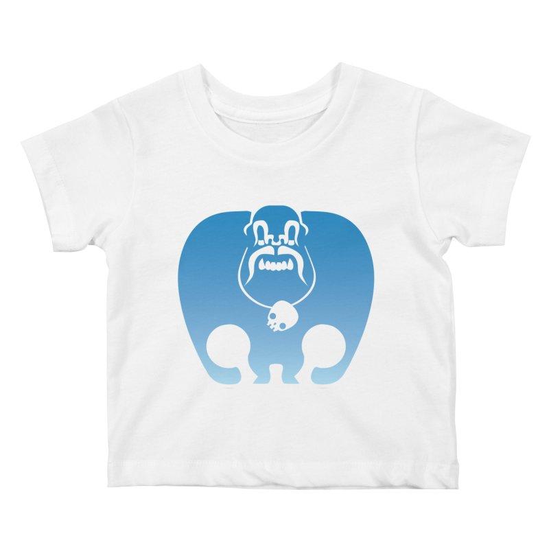 SkullSquach by Rick Sans Kids Baby T-Shirt by Ricksans's Artist Shop