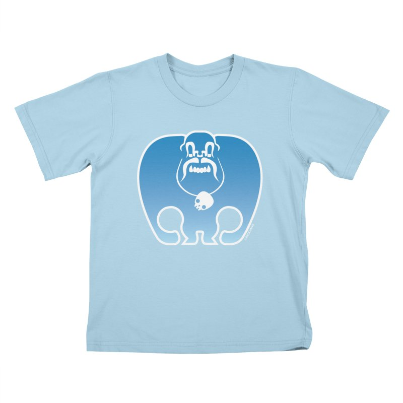 SkullSquach by Rick Sans Kids T-Shirt by Rick Sans' Artist Shop