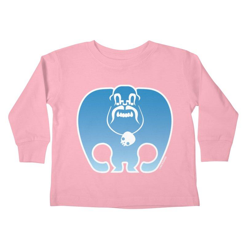 SkullSquach by Rick Sans Kids Toddler Longsleeve T-Shirt by Ricksans's Artist Shop