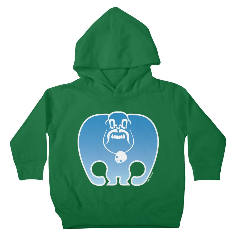 SkullSquach by Rick Sans Kids Toddler Pullover Hoody by Rick Sans' Artist Shop