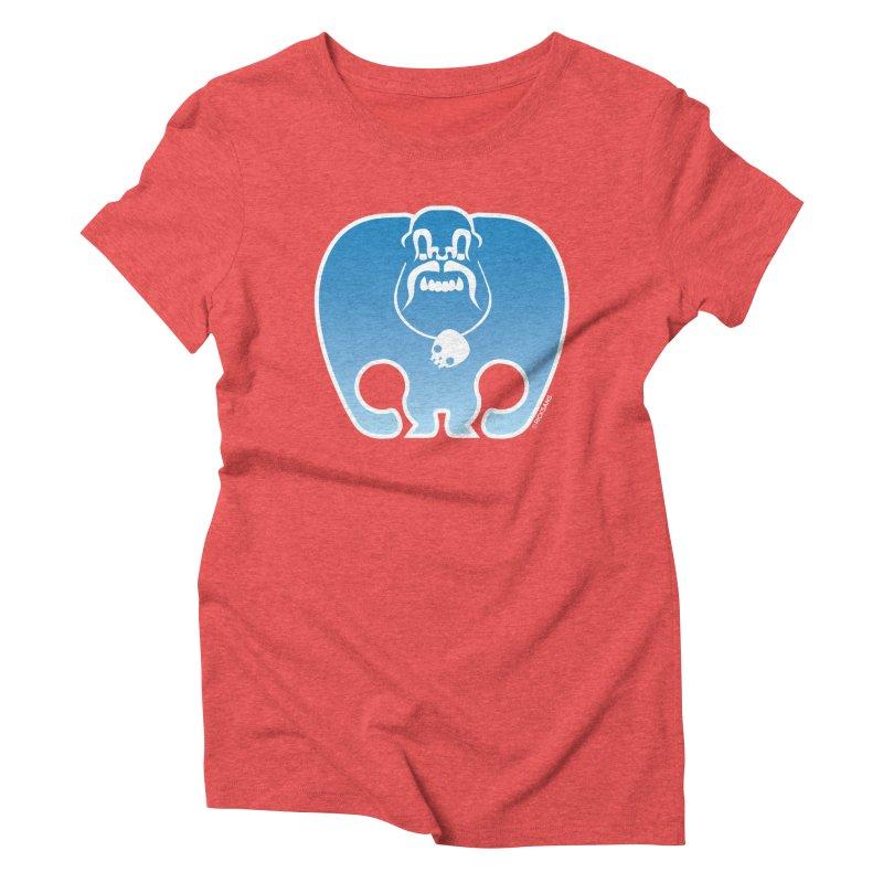 SkullSquach by Rick Sans Women's Triblend T-Shirt by Ricksans's Artist Shop
