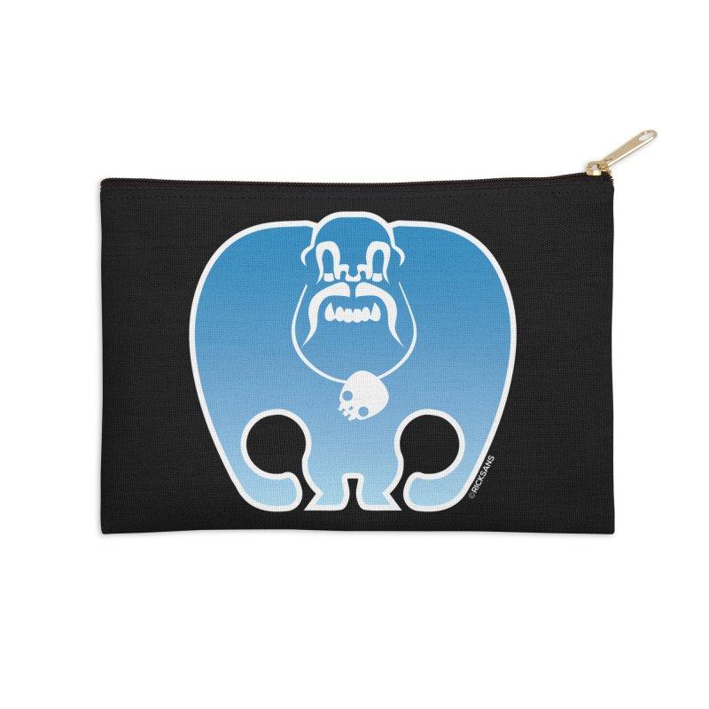 SkullSquach by Rick Sans Accessories Zip Pouch by Ricksans's Artist Shop