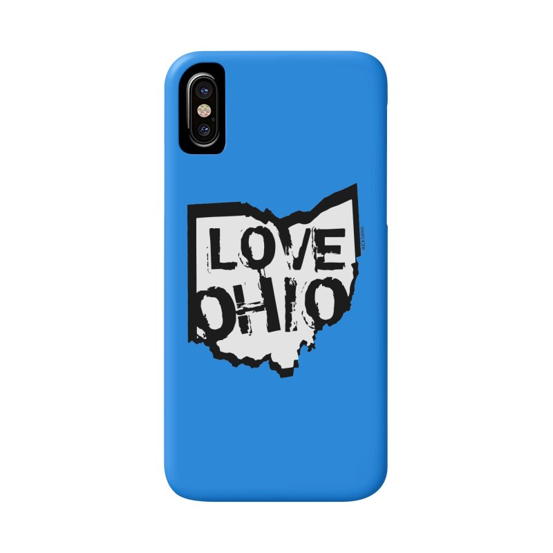 Love Ohio Accessories Phone Case by Ricksans's Artist Shop