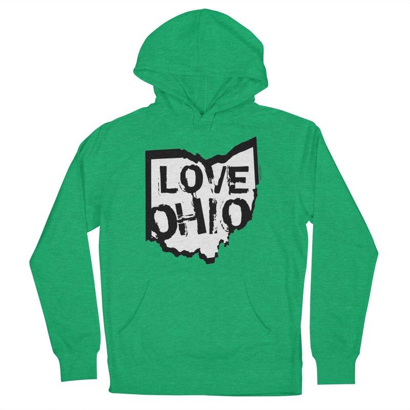 Love Ohio Men's Pullover Hoody by Ricksans's Artist Shop