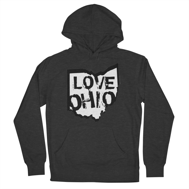 Love Ohio Men's Pullover Hoody by Ricksans's Artist Shop