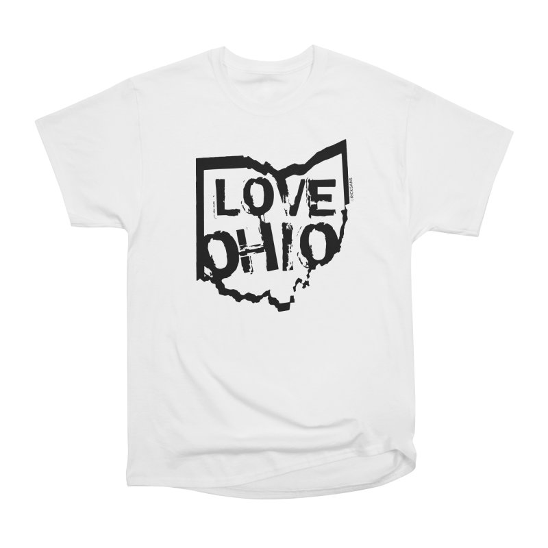 Love Ohio Men's Heavyweight T-Shirt by Rick Sans' Artist Shop