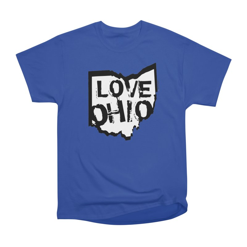 Love Ohio Men's Heavyweight T-Shirt by Rick Sans' Artist Shop