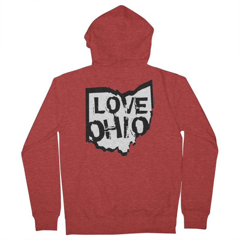 Love Ohio Women's Zip-Up Hoody by Ricksans's Artist Shop