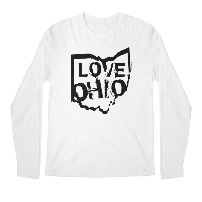 Love Ohio Men's Longsleeve T-Shirt by Ricksans's Artist Shop