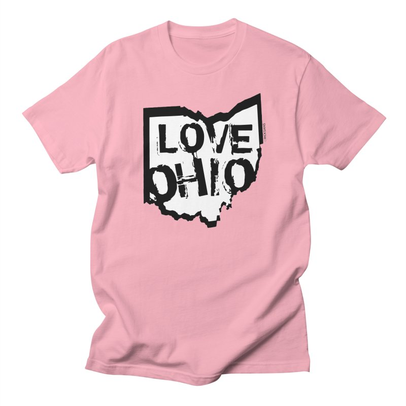 Love Ohio Men's T-Shirt by Ricksans's Artist Shop