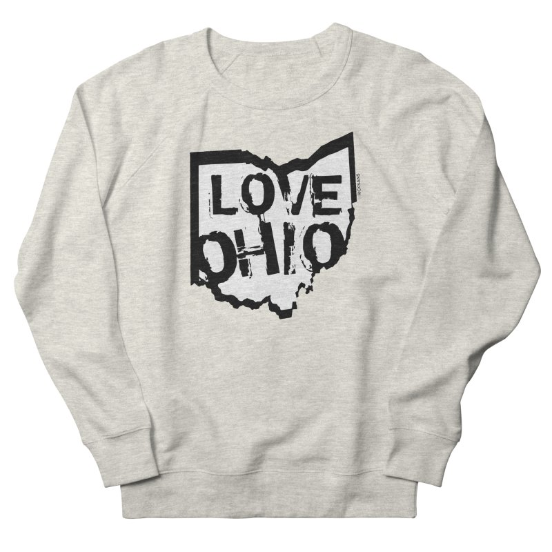 Love Ohio Women's Sweatshirt by Ricksans's Artist Shop