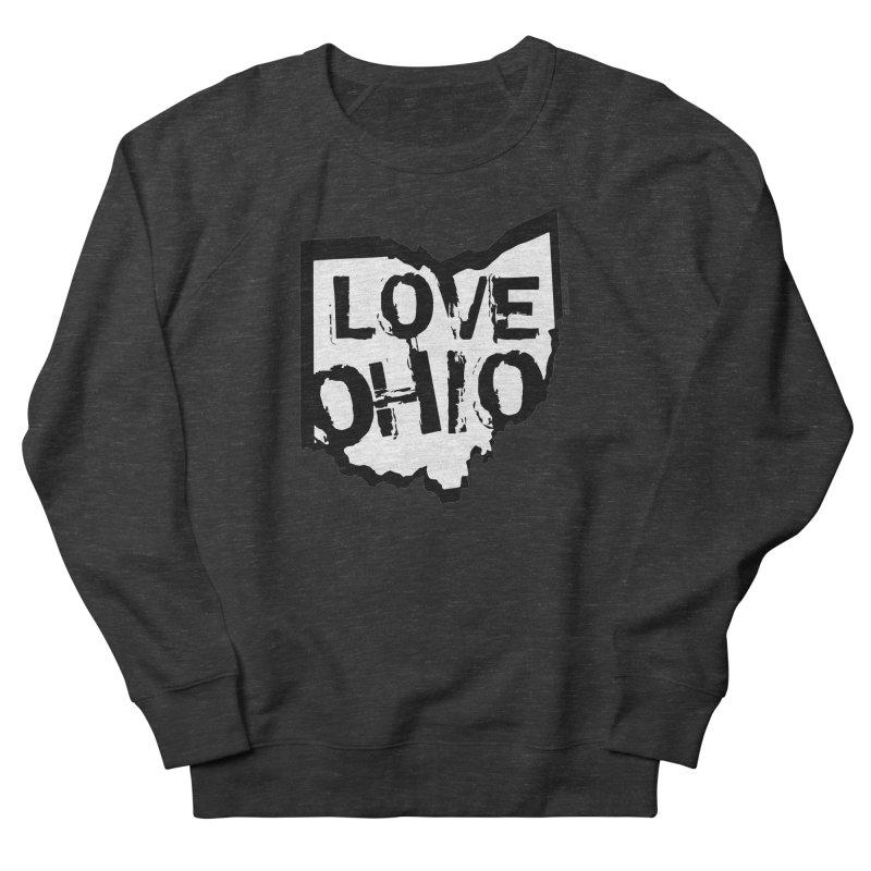 Love Ohio Men's Sweatshirt by Ricksans's Artist Shop