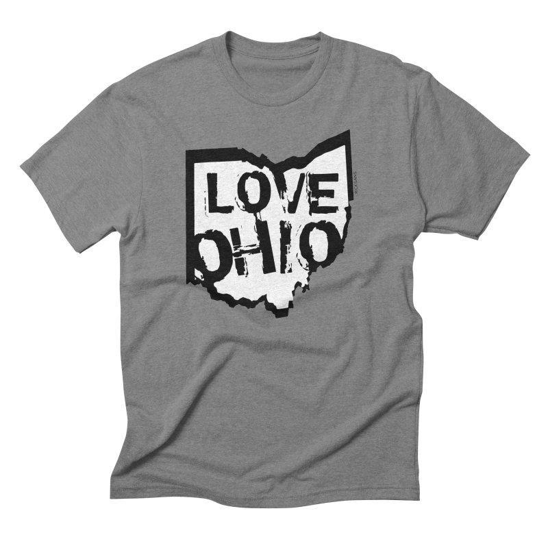 Love Ohio Men's Triblend T-shirt by Ricksans's Artist Shop