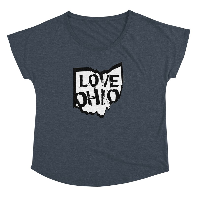 Love Ohio Women's Dolman by Ricksans's Artist Shop