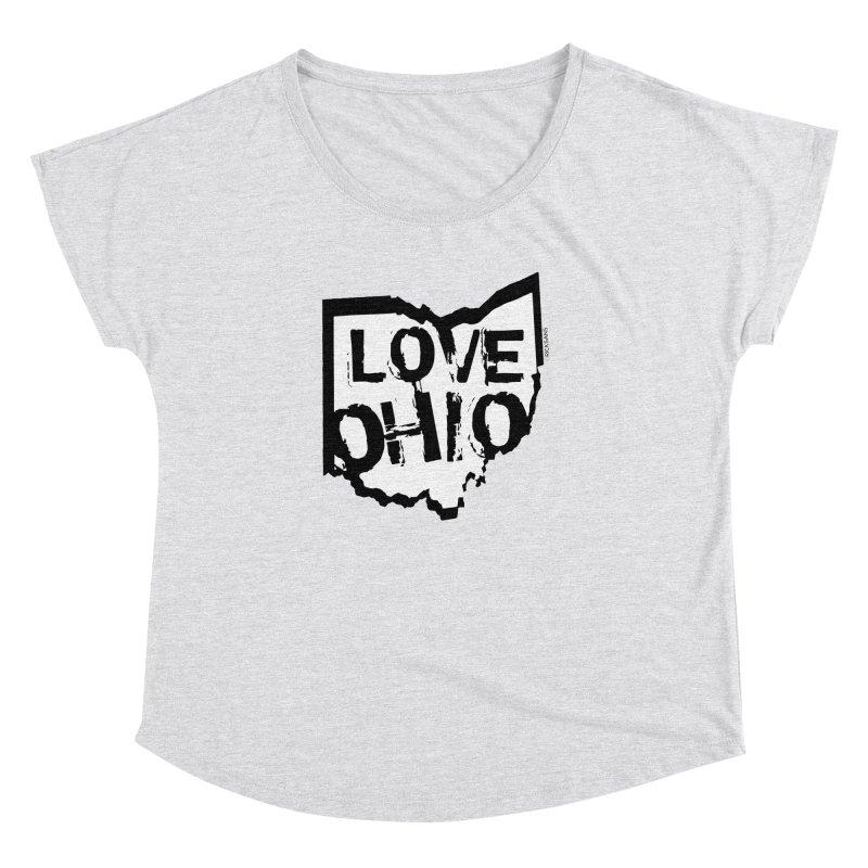 Love Ohio Women's Dolman by Ricksans's Artist Shop