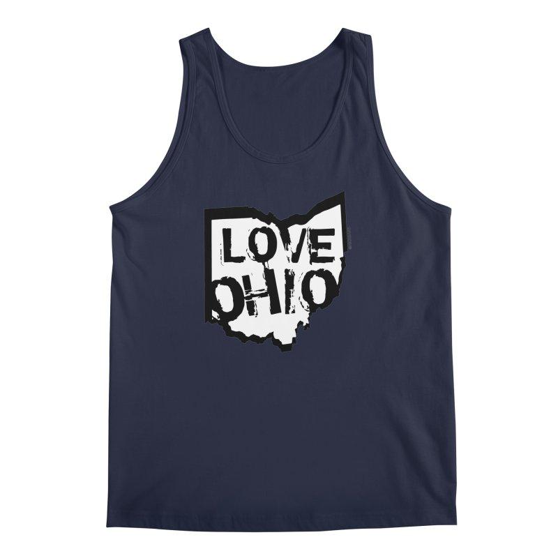 Love Ohio Men's Regular Tank by Ricksans's Artist Shop