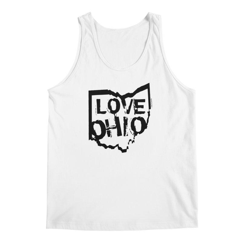 Love Ohio Men's Tank by Ricksans's Artist Shop