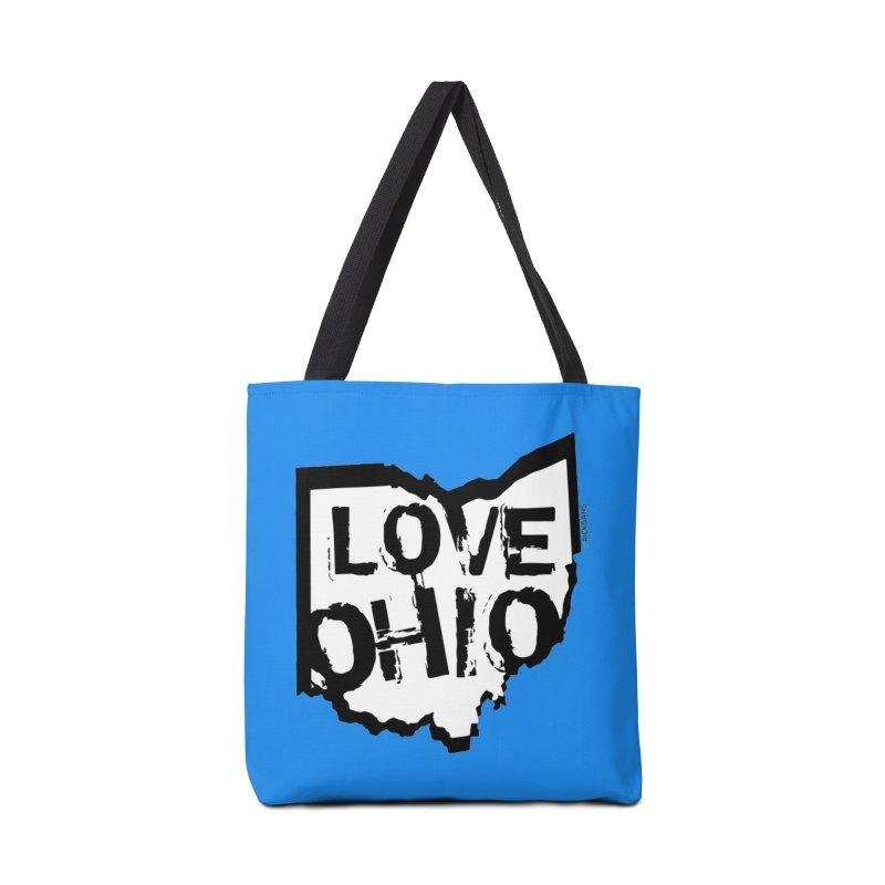 Love Ohio Accessories Bag by Ricksans's Artist Shop