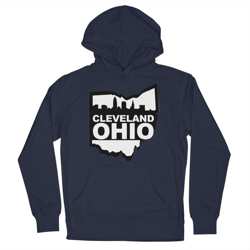 Cleveland Ohio Skyline Women's Pullover Hoody by Ricksans's Artist Shop