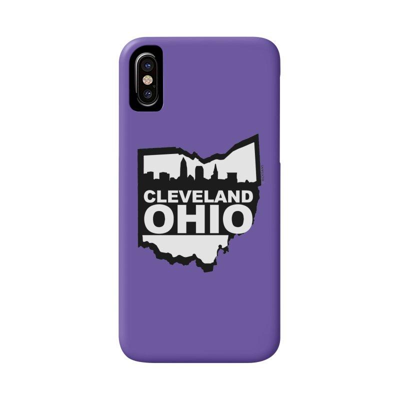 Cleveland Ohio Skyline Accessories Phone Case by Ricksans's Artist Shop
