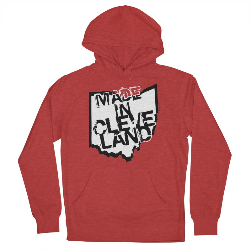 Made In Cleveland Women's Pullover Hoody by Ricksans's Artist Shop