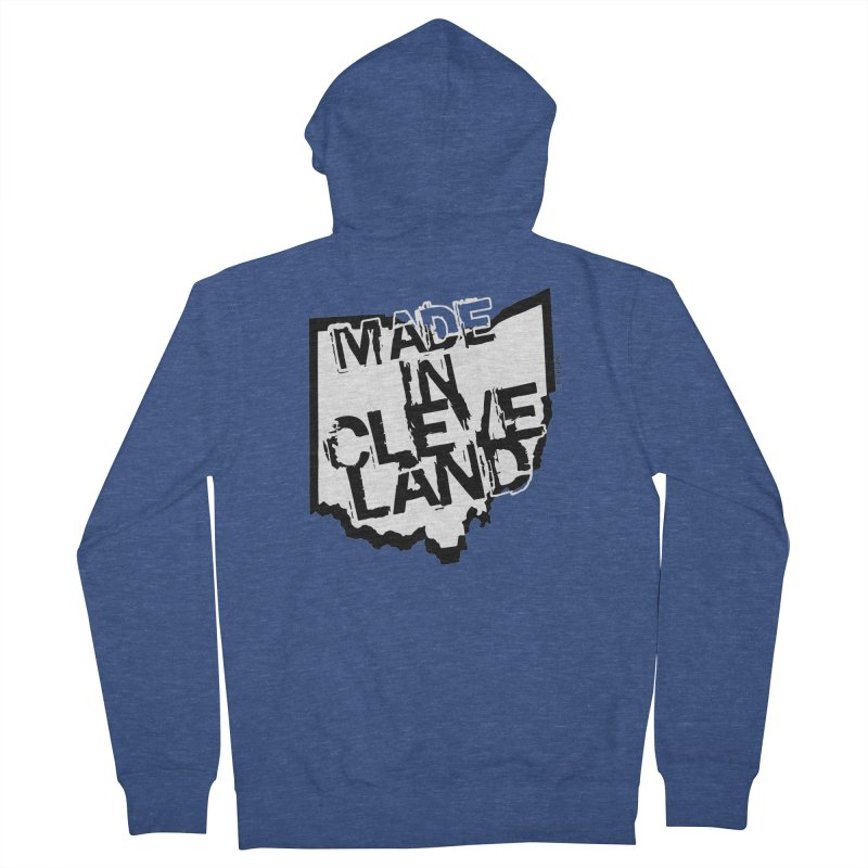 Made In Cleveland Women's Zip-Up Hoody by Ricksans's Artist Shop