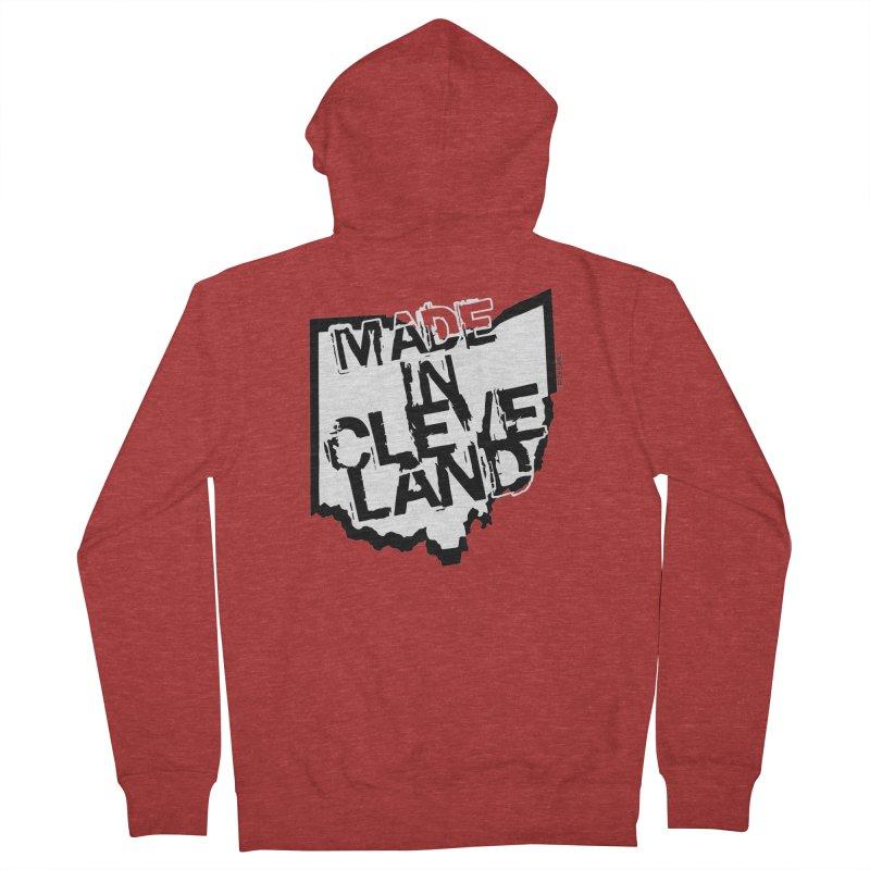 Made In Cleveland Men's Zip-Up Hoody by Ricksans's Artist Shop