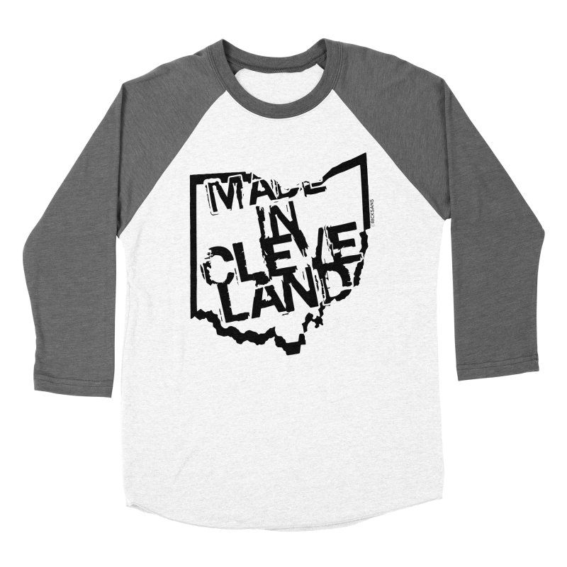 Made In Cleveland Women's Baseball Triblend T-Shirt by Ricksans's Artist Shop